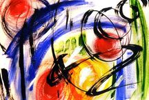 Abstract Art Painting, Pictures, & Ideas / Abstract art and paintings themes