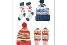Winter wonderland! / Slap! a mis ses gants et ses bonnets! Retrouvez nos affiches les plus hivernales.