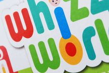 Toy packaging - Whizz World / early learning centre toy packaging design