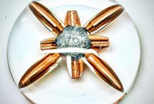ammunition / bullet art, ammunition displays and paperweights