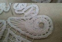 romanian lace,  tape lace....(crochet+needle....)
