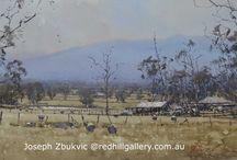 Joseph Zbukvic Red Hill Gallery, Brisbane / Watercolour Artist Australia