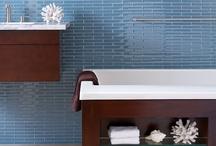 Going back to Blue Bayou / Colorful Blue Tiles -- aStepInStone.com