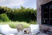 Oleskelua / Terraces & patios