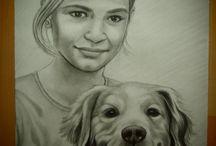 Drawing from Photo / Drawing from Photo by Juliana Hamajdak. www.malovaneumenie.sk