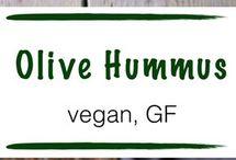 Chickpea hummus raw