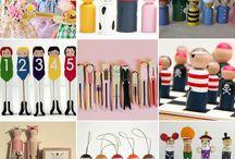 clothespins vintage