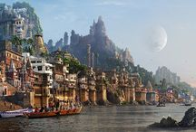 Matte Painting / Matte Paintings / by Walter De Marco
