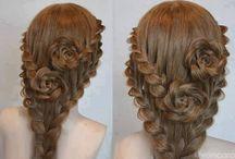 Hair upstyles
