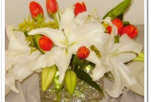 Centerpieces by RAD Event Production / Fresh flowers centerpieces by RAD Event Production - west palm beach florida - weddings