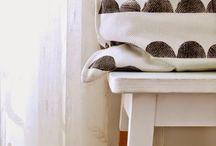 Potato printing / #potatoprinting #DIY #presents #handmade