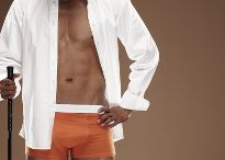 October 2015 Newsletter - Men's / BE BOLD, BE COLORFUL. Forget black and white, go for a splash of color !