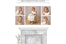 Decorate with Portraits - Wall Groupings / Samples of some of our wall groupings - just a few of the possibilities! Browse this and our other boards to be inspired with how you can make your family the art in your home.  Visit us online at pxpfoto.com.