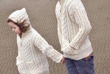 Kids Irish Knit Sweaters