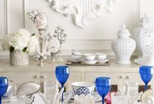 Design: Blue & White, Blues / by Kathi White