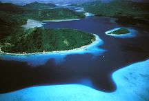 50 Shades of Blue / From turquoise to azure.... all the colors of Tahiti's lagoons