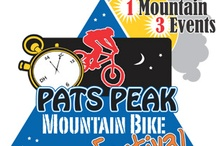 Mountain Biking at Pats Peak / Every year in June, we have been hosting a Mountain Bike Festival. Therefore, we have a mountain bike trail that is free and open to the public to use. Be aware, it is a difficult course but lots of fun for biking enthusiasts.  / by Pats Peak