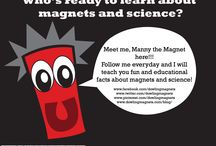 Manny the Magnet  Educational Facts about Magnets & Science / Do you have questions about magnets and science?  Manny has the answers!!