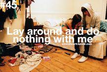 :) when..