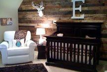 Baby boy nursery / A nursery for a boy