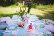 GARDEN PARTY / ideas for backyard garden parties