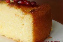 Limonlu rose kek