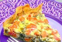 torta de rúcula tomate batata de base