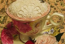 'what would you say to a nice cup of tea?'  / Ideas of what to do with my vintage tea cups