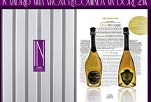 IN MADRID VILLA MAGNA Recomienda VIN DORÉ 24K / IN MADRID VILLA MAGNA Recomienda VIN DORÉ 24K  Cava y vino espumoso con auténtico polvo de oro de 24K  http://vindore.com/inicio.html