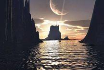 Callandaria / Scene research for my Chronicles of Callandaria series