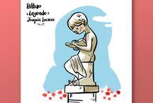 BILBAO! / Ilustraciones dedicadas a Bilbao