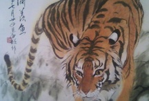 CHINESE WATER COLOR / by Nancy O'Riley