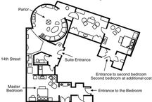 Hotelrooms plans