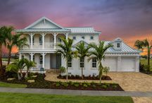 MiraBay Cardel Homes / Cardel is building homes on waterfront and preserve property in MiraBay.