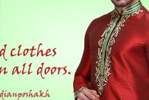 Indian Poshakh Fashion / Indian ceremonial dresses, celebration wear, new arrivals, best collections and much more.