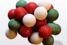 Copos de luz * Navidad / Nuestras guirnaldas de navidad. Inspirate en estas fiestas. #GuirnaldaNavidad