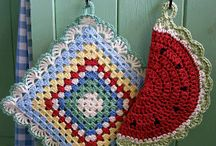 Potholders / by Mary Cantrell