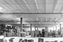 STABILIMENTO MAX MARKET / Trezzano sul Naviglio (MI) – 1969 Architettura: Giorgio Pugliese Strutture: Aldo Favini