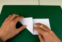 星 五角形の折り方