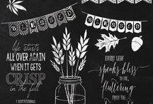 Raam inspiratie / Chalk marker