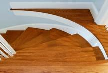 Traprenovatie / Alle houtsoorten kunnen op een trap , zelfs laminaat.