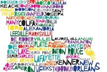 Louisiana - Throw Me Something Mister / Louisiana, LSU, Cajun, Mardi Gras, New Orlean Saints