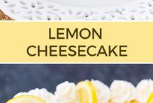 Cheesecakes...my favourite dessert
