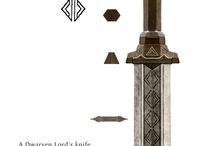 Weapon design: Dwarven