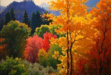 Oils peintings peisages