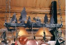 Pot Racks & Kitchen