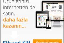 E Ticaret Sitesi İle Ürünlerinizi İnternette Satın