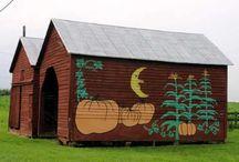 Barns..... / by RuthAnn Bradbury