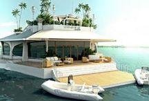 casa pe apa