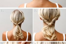 Hair tutorial / I love those hair style/ tutorial.
